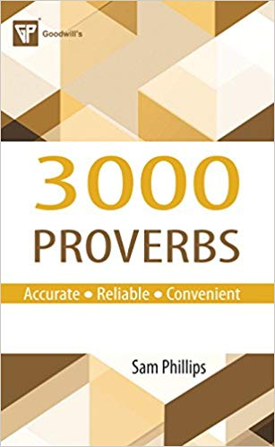 3000 Proverbs 1 ED by Sam Phillips 8172450095