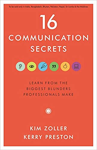 16 Communication Secrets by Kim Zoller 8184958811