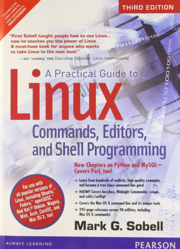 A Practical Guide to Linux 3 ED by Sobell 9332502110