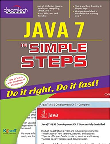 Java 7 in Simple Steps 1 ED by Kogent Learning Solutions Inc 9350042622