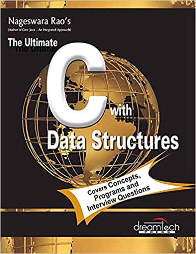 The Ultimate C with Data Structures 1 ED by R Nageswara Rao 9351197530