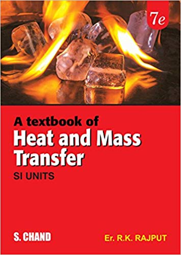 A Textbook Of Heat And Mass Transfer 7 ED by R K Rajput 9352533844