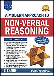 A Modern Approach to Non Verbal Reasoning by R S Aggarwal 9352535332