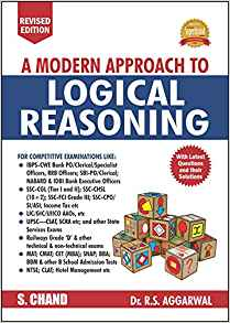 A Modern Approach to Logical Reasoning by R S Aggrawal 935253574X