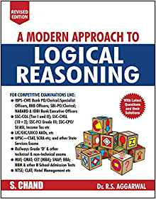 A Modern Approach to Logical Reasoning by R S Aggarwal 9352832191