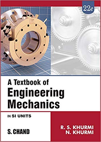 A Textbook of Engineering Mechanics 22 ED by R S Khurmi 9352833961