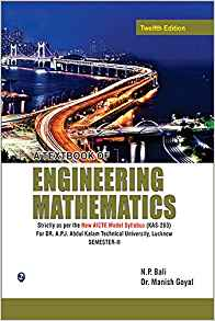 A Textbook of Engineering Mathematics Sem II 12 ED by N P Balimanish Goyal 9380386788