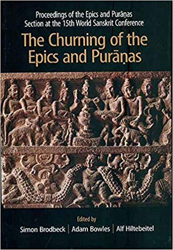 The Churning of the Epics and Puranas 2018 ED by Simon Brodbeck 9381406855