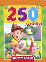 250 Activities Vol 2 by Little Pearl 9382822429 US ED
