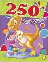 250 Colouring Vol 2 by Little Pearl 9382822887 US ED