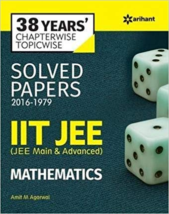 38 Years Chapterwise Solved Papers IIT JEE Mathematics 14 ED 9385980742
