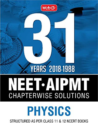 31 Years NEET AIPMT Chapterwise Solutions Physics 9387949176