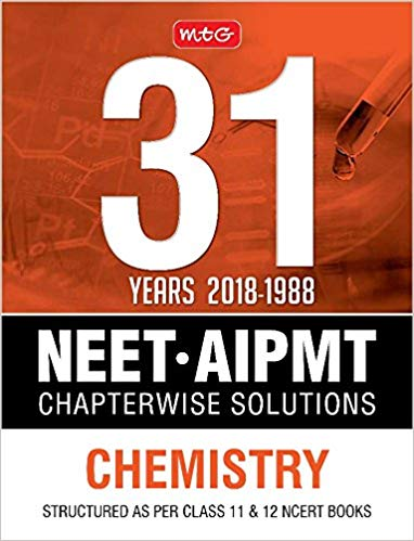 31Years NEET AIPMT Chapterwise Solutions Chemistry 9387949184