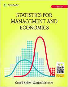 Statistics for Management and Economics 11 ED by Gerald Keller 9387994015
