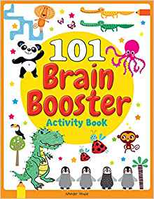 101 Brain Booster Activity Book by Wonder House Books 9388369793