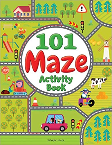 101 Maze Activity Book by Wonder House Books Editorial 9388369947