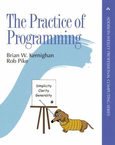 The Practice of Programming 1 ED by Rob Pike 9780201615869