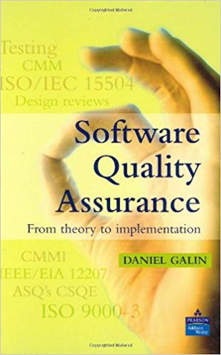 Software Quality Assurance 1 ED by Daniel Galin 9780201709452