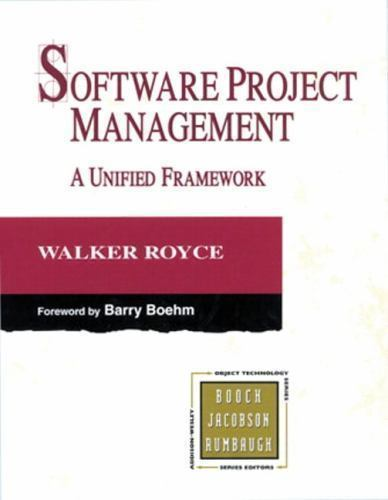 Software Project Management 1 ED by Walker Royce 9780321734020