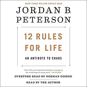 12 Rules for Life by Jordan B Peterson 9780345816023