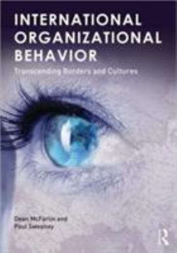 International Organizational Behavior 1 ED by Paul Sweeney 9780415892568