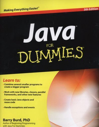 Java for Dummies 5 ED by Barry Burd 9780470371732