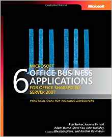 6 Microsoft Office Business Applications for Office SharePoint Server 2007 1 ED 9780735622760