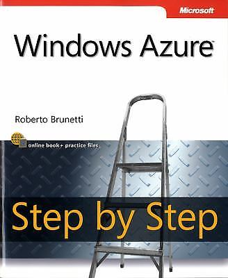 Windows Azure Step by Step 1 ED by Roberto Brunetti 9780735649729
