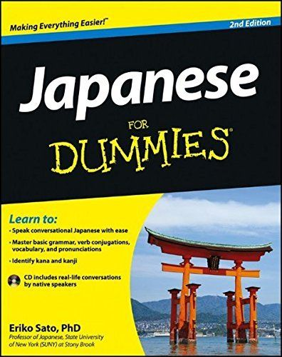 Japanese for Dummies 2 ED by Eriko Sato 9781118130711