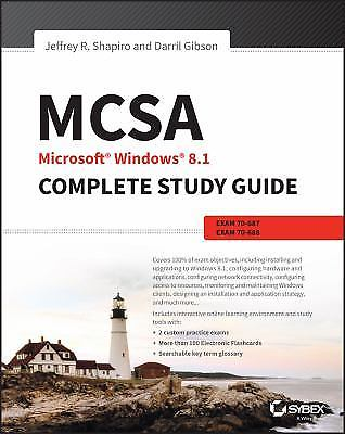 MCSA Microsoft Windows 8 Point 1 Complete Study Guide 1 ED by William Panek 9781118556870
