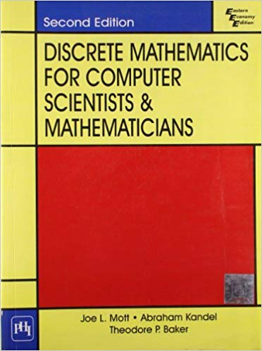 Discrete Mathematics for Computer Scientists and Mathematicians 2 ED 9788120315020
