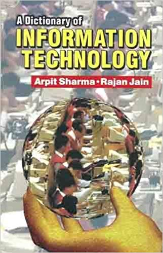 A Dictionary of Information Technology 1 ED by Arpit Sharma 9788123908694