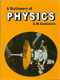 A Dictionary of Physics by Goldstein 9788123908823