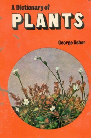 A Dictionary of Plants by George Usher 9788123911403