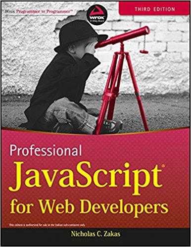 Professional Javascript for Web Developers 3 ED by N C Zakas 9788126535088