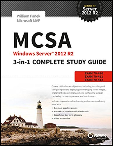 MCSA Windows Server 2012 R2 3 in 1 Complete Study Guide 1 ED 9788126554676