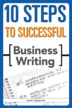 10 Steps to Successful Business Writing 1 ED by Jack E Appleman 9788131515006