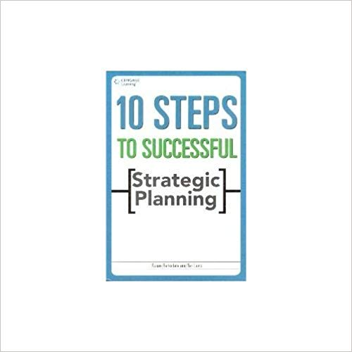 10 Steps to Successful Strategic Planning 1 ED by Barksdale 9788131515044