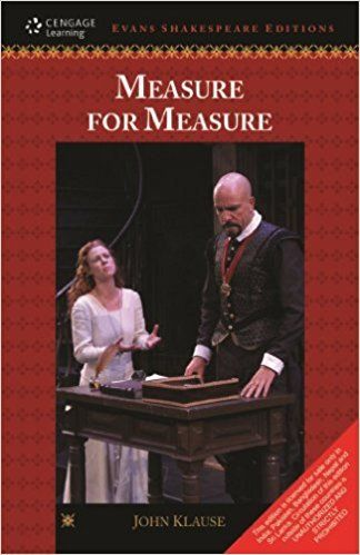 Measure for Measure 1 ED by J Klause 9788131517642
