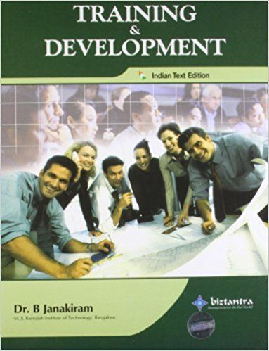 Training and Development 1 ED by B Janakiram 9788177227253