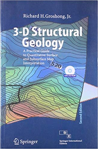 3 D Structural Geology 2 ED by Richard H Groshong 9788184898552