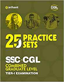 25 Pratice Sets SSC CGL Tier 1 Online Exam 2017 1 ED by Arihant Experts 9789311123738