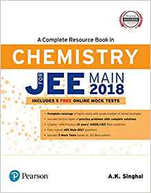 A Complete Resource Book in Chemistry for Jee Main 2018 3 ED by A K Singhal 9789332586390
