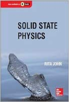 Solid State Physics 1 ED by Rita John 9789332901797