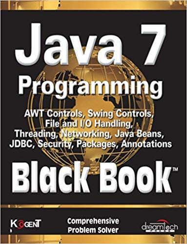 Java 7 Programming 1 ED by Kogent Learning Solutions Inc 9789351190820