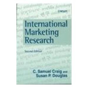 International Marketing Research 2 ED by C Samuel Craig 9789971513863